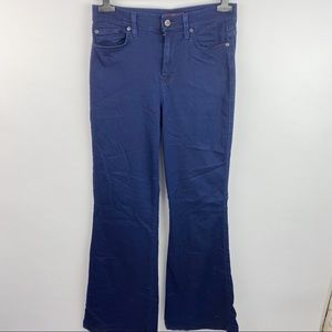 7 for all Mankind high rise ginger flare jeans
